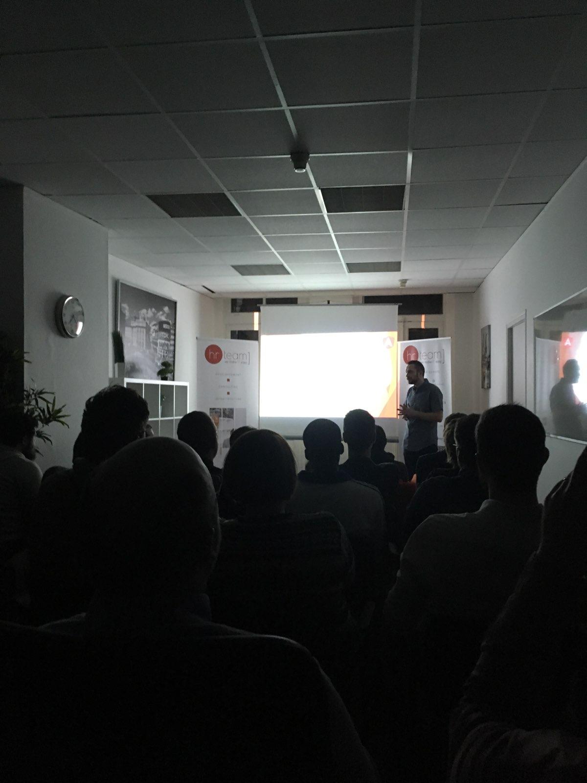 Premier Meetup Angular 4 de l'année à l'agence de Lille !