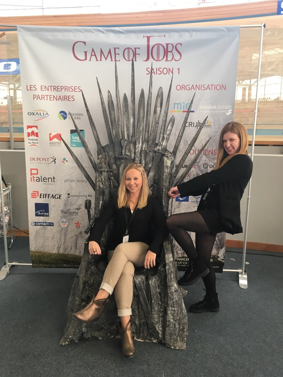 game of jobs  le forum o u00f9 employeurs et futurs employ u00e9s se
