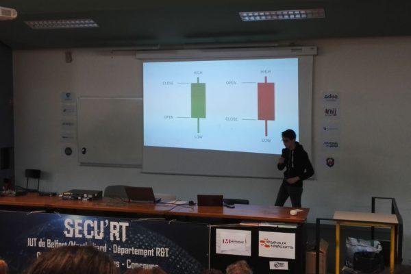 Cryptographie & Crypto-monnaie : intervention de notre consultant Martin.