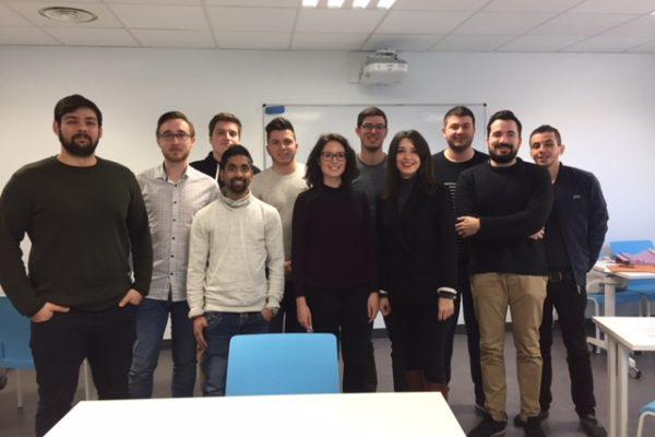 Les chargées de recrutement HR Team Lyon au Campus Ynov