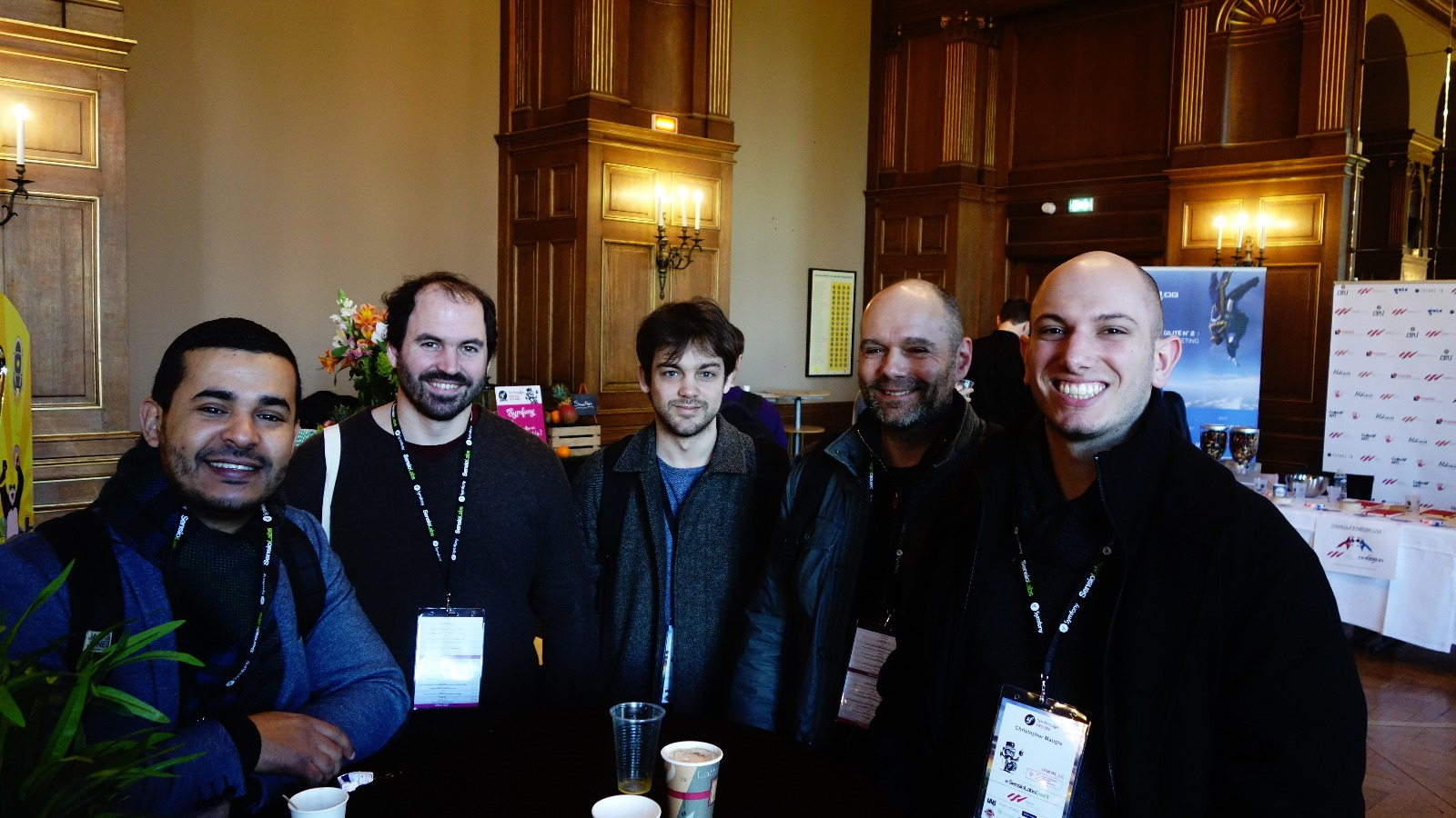 Les consultants HR Team au Symfony Live Paris 2018