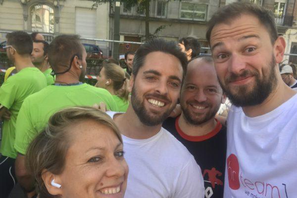 Notre équipe lilloise a participé au semi-marathon de la Braderie de Lille