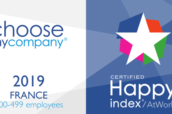 HR Team wins the Happy At Work 2019 Label!