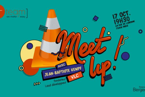 Meetup avec Jean-Baptiste Kempf, fondateur et lead développeur de VLC