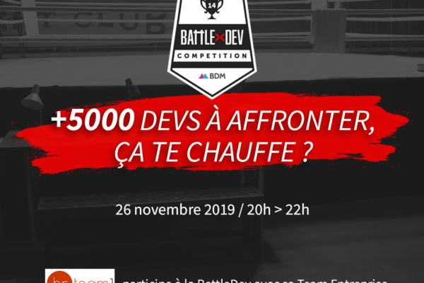 HR Team participe à la Battle Dev, rejoins-nous !