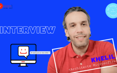 Nos projets innovants : l'interview de Khelil