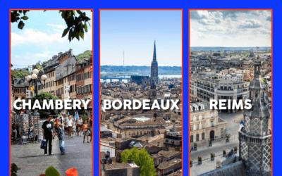 Ouverture d'agences HR Team à Bordeaux, Chambéry et Reims