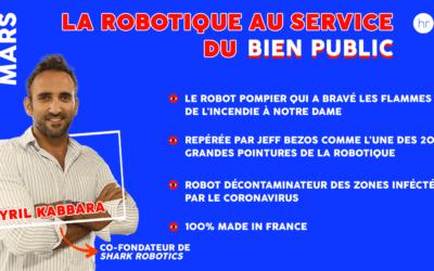 """11/03 : event """"La Robotique au service du bien public"""""""