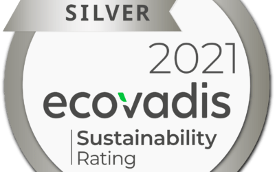 Certification Silver à l'audit RSE Ecovadis